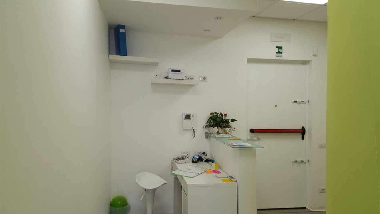 Progettazione-ufficio-studio Ingresso