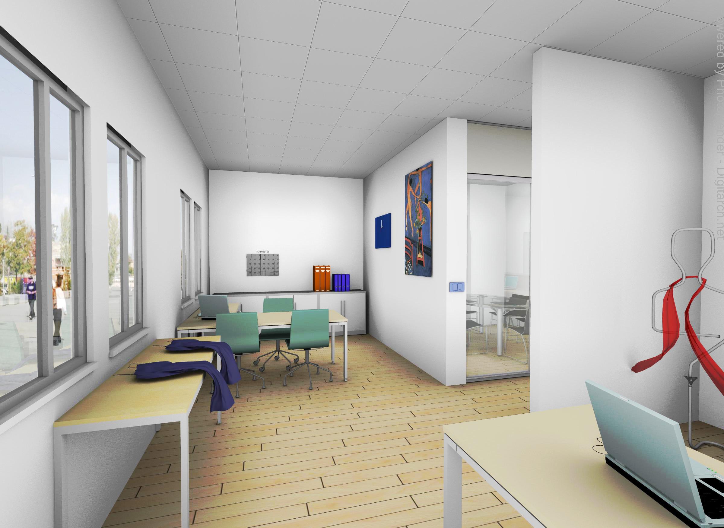 Progettazione negozio idea di progettazione di un ufficio