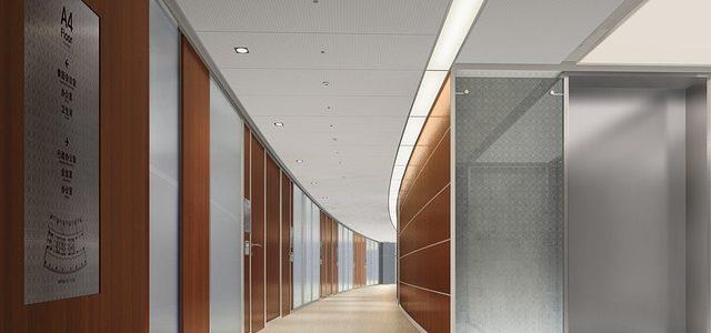 Render e progettazione degli uffici